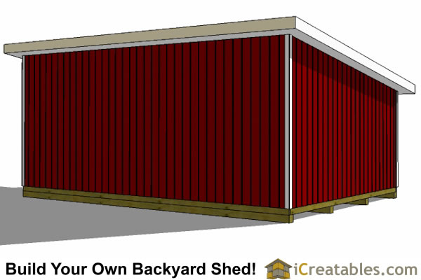16 x 24 wood shed plans for 16x24 shed plans free