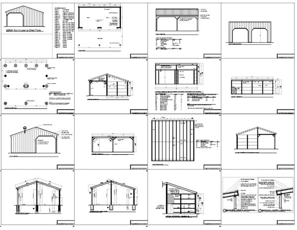 Shed Plan Books Learn Horse Run In Shed Plans Design