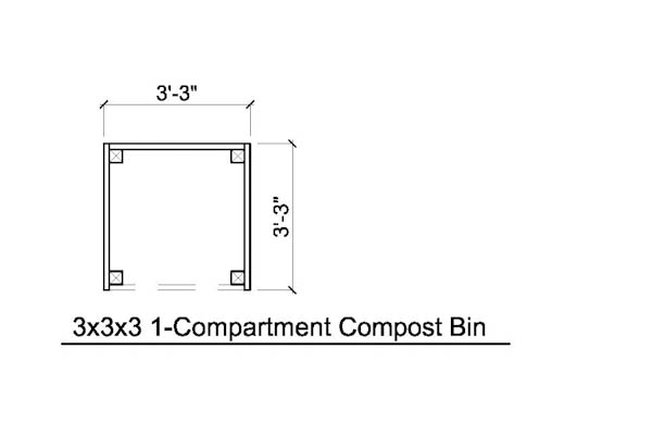 Build Your Own Wood Compost Bin