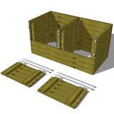 3x6 diy compost bin plans