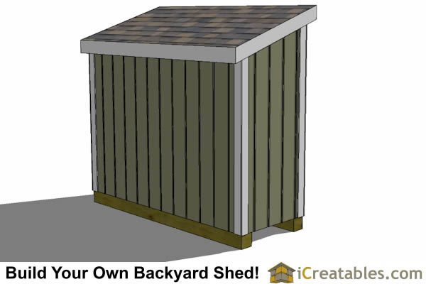 3x8 lean to shed plans the perfect low wall lean to plans