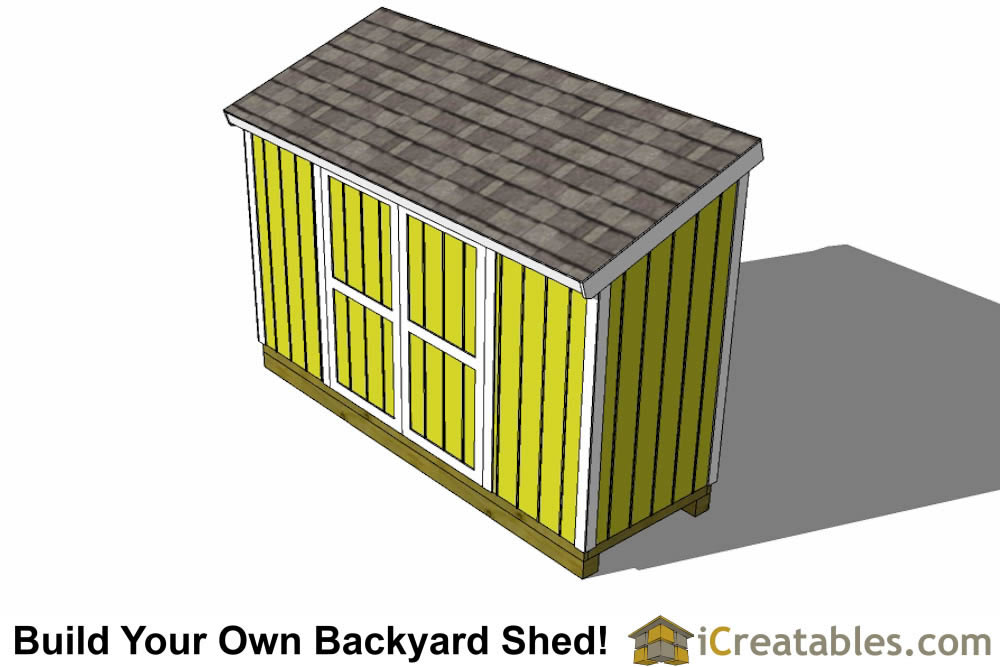 3x12 lean to shed plans top