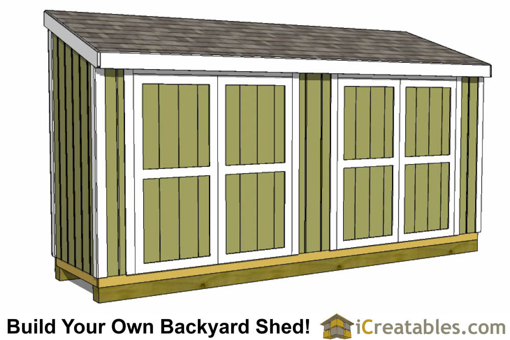 4x16 lean to shed plans 4x16 storage shed plans for Lean to house plans
