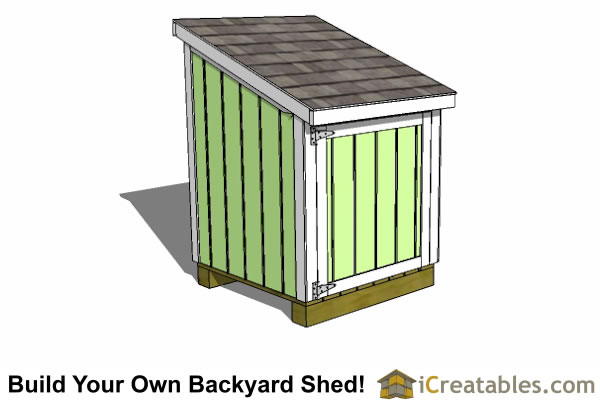 4x4 Generator Enclosure Shed Plans Build Your Own