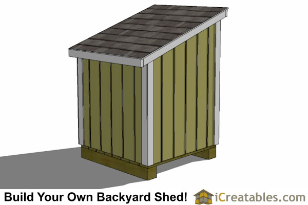 4x4 Generator Enclosure Shed With Tall Side Door Shed Plans