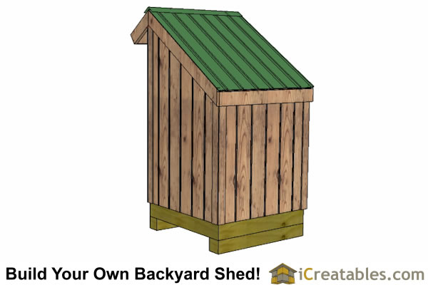 Small Firewood Storage Lean To Shed Plans Outdoor Shed