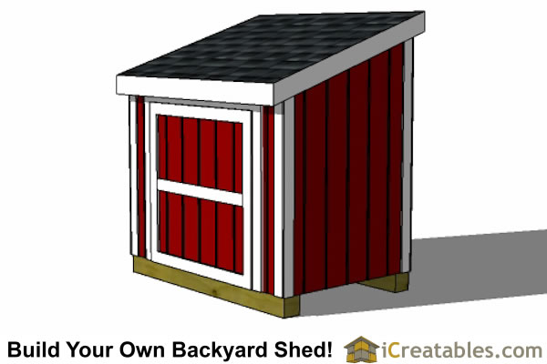 4x6 generator Shed