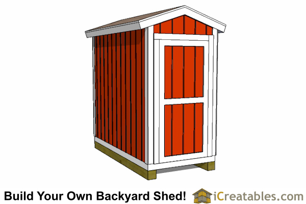 4x8 shed plans 4x8 storage shed plans - Outside storage shed plans plan ...