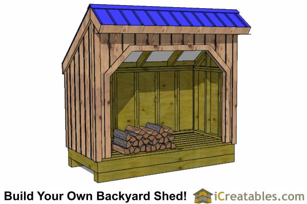 firewood shed designs