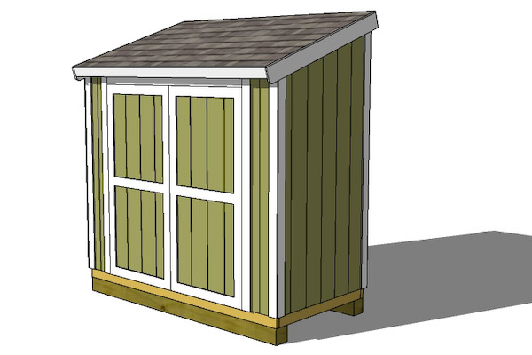 Garden Sheds With Lean To lean to shed plans - extra storage space - large shed plans