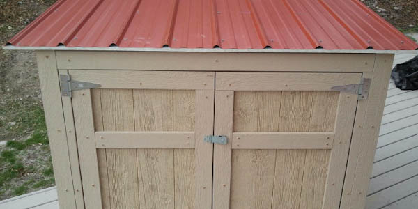 Help for Shed Online plans: How to build a small generator shed
