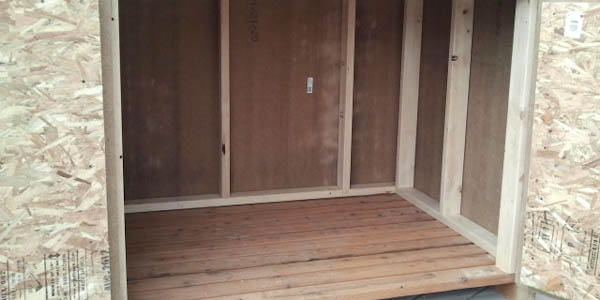 Open fronted wooden shed do best plan for Open front shed