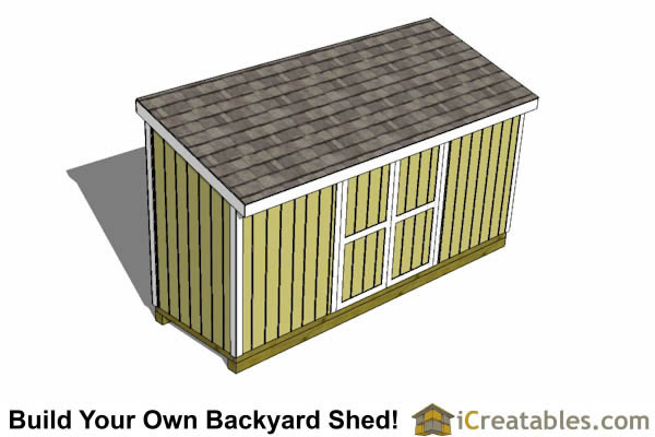 5x16 lean to shed plans top