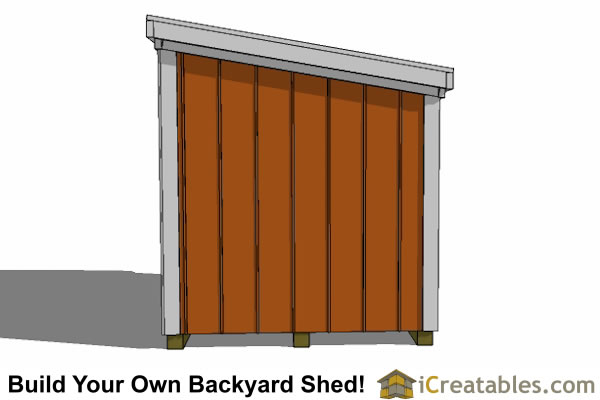 5x7 generator enclosure plans elevations