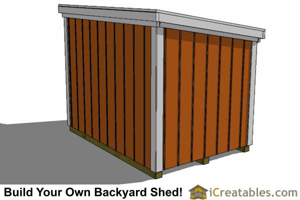 5x7 generator enclosure rear view