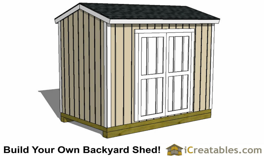 6x10 tall shed plans