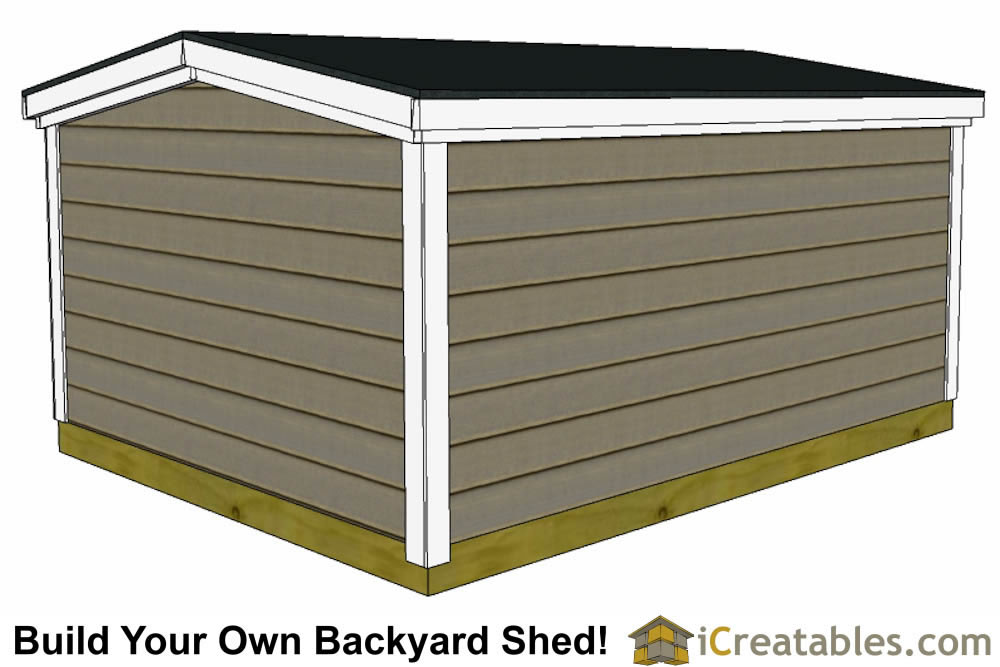 6x10 backyard shed plans 6 foot tall
