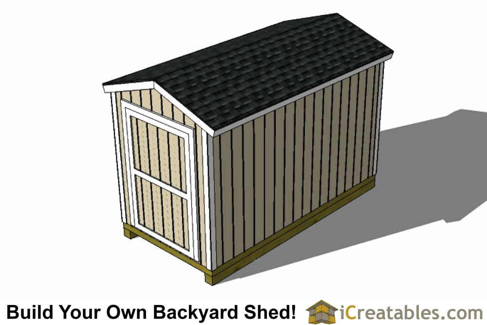 Garden Shed 6 X 12 Size Ft Cedar Longhouse