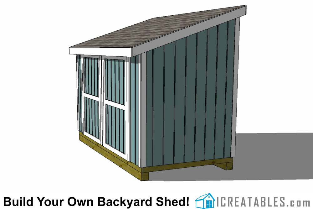 6x12 Lean To Shed Plans 6x12 Storage Shed Plans