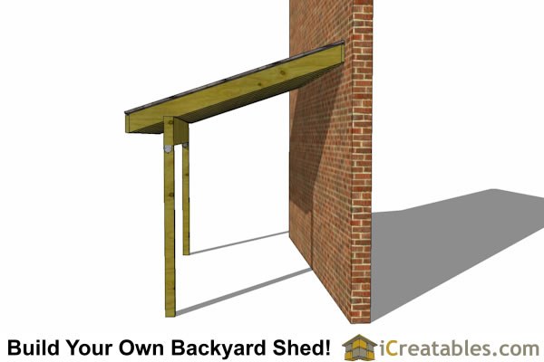 6x12 Lean To Shed Plans 6x12 Lean To Open Side Shed Plans
