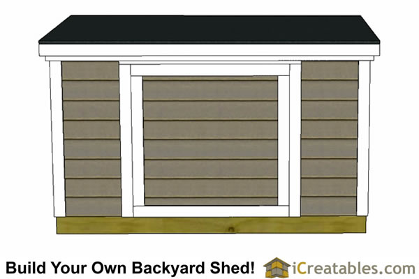 6x6 6 foot tall shed plans top