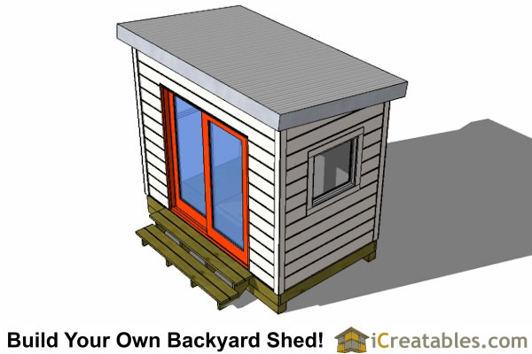6x8 shed plan top