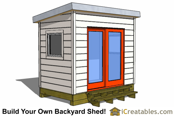 6x8 Shed Plans 6x8 Storage Shed Plans
