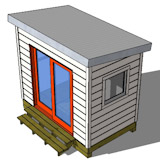 8x10 shed plan top