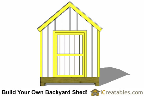 8x10 new england shed plans