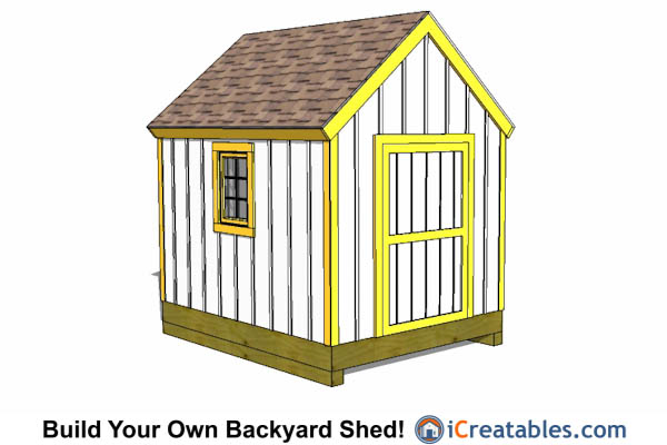 8x10 cape cod shed
