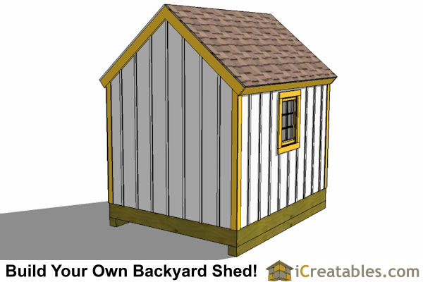 8x10 new england garden shed plans