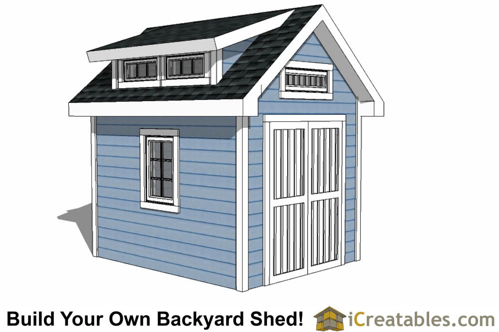 Garden shed plans backyard shed designs building a shed for 8x10 office design