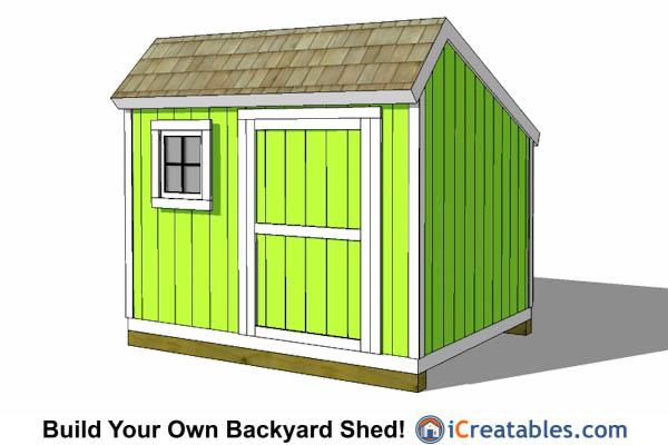 8x10 saltbox shed plans nz