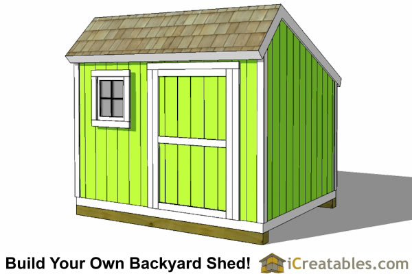 Shed plans black and decker steel sheds 8x10 saltbox for Design and build your own shed