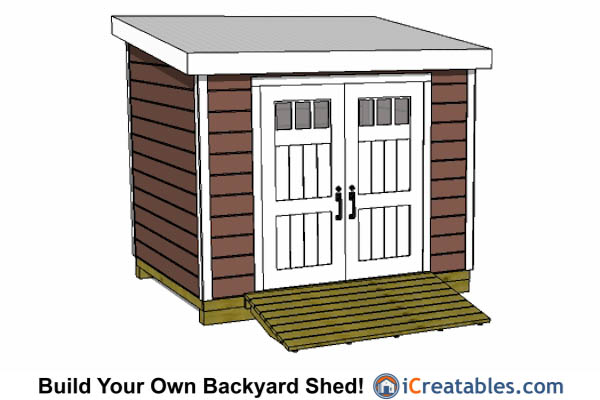 8x10 lean to shed