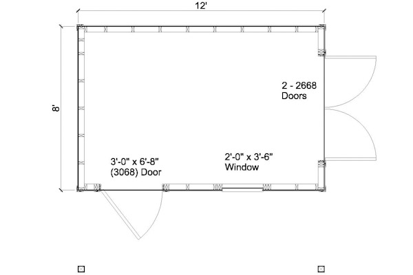 Info plan for 8x12 shed melsandy for Ccp flooring