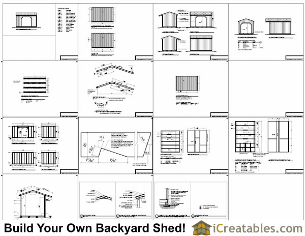 Gardening Activity Firewood shed plans icreatables shed – Free Garden Shed Plans 8X12