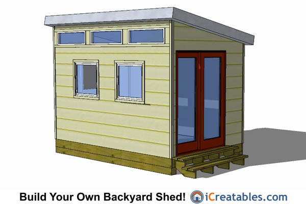 8x12 shed plans buy easy to build modern shed designs - Building a garden shed design ideas and plans ...
