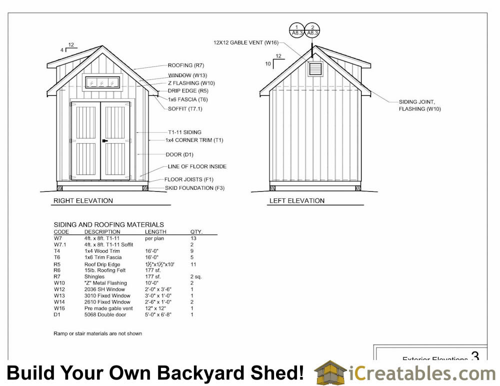 8x12 Shed Plans With Dormer Icreatables Com
