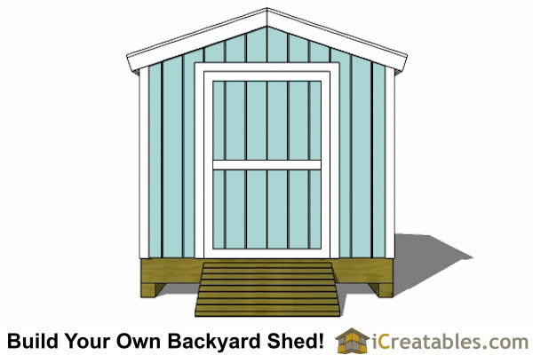 8x12 Shed Plans Storage Shed Plans icreatablescom
