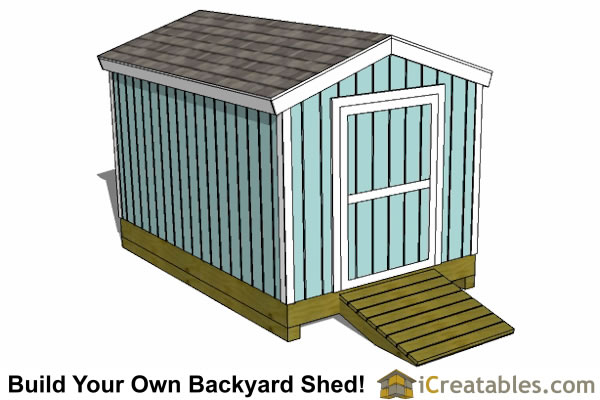 backyard storage shed plans 8x12