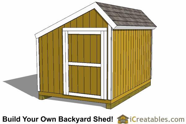 Storage shed plans lowes for Salt shed plans