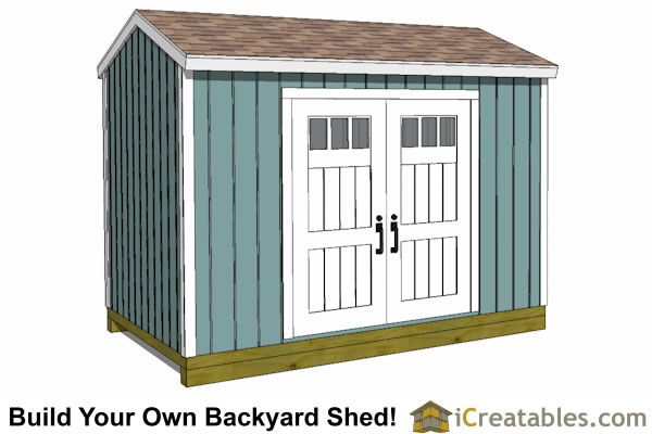 Material list for 8x12 shed | Plans & guide