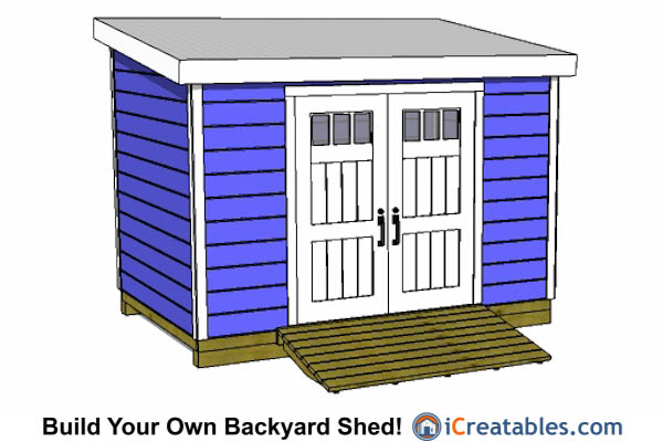 8x12 lean to shed