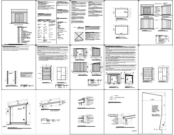 shed plans i nclude the following materials list the 8x12 lean to shed