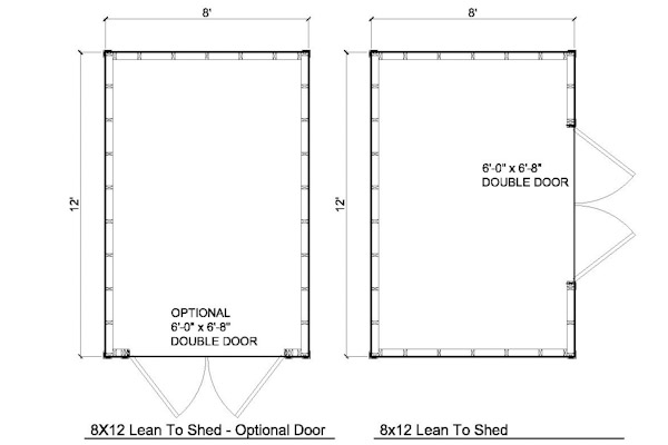 Uyut bonge 10x20 lean to shed plans for 10 x 8 shed floor plans