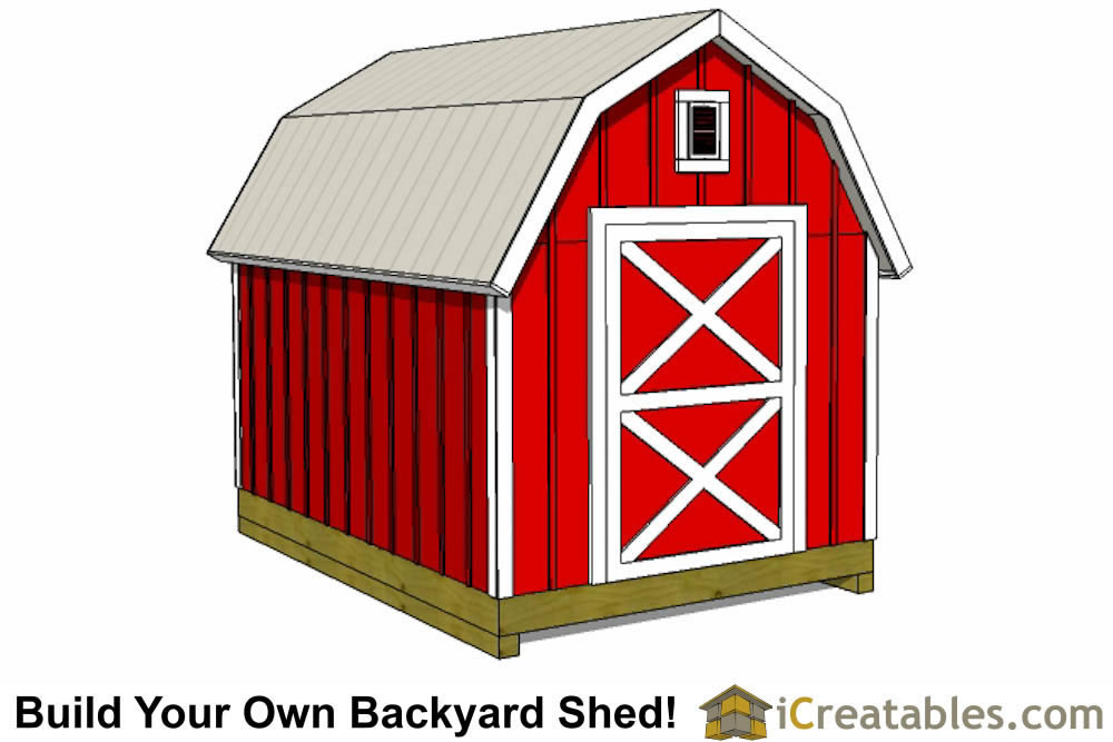 how to build a gambrel shed