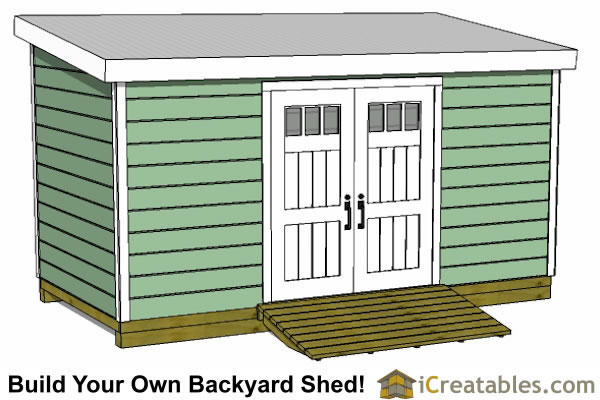 8x16 Lean To Shed Plans Storage Shed Plans Icreatables Com