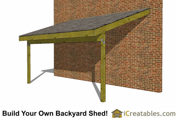 8x16 Storage Shed Plans - Easy to Build Designs - How to Build a Shed