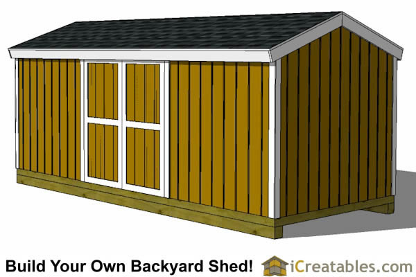 8x20 Shed Plans Storage Shed Plans Icreatables Com